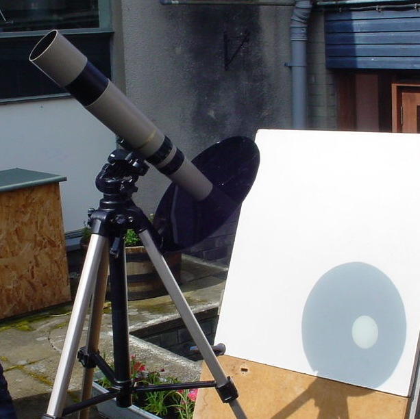 Safe solar viewing equipment