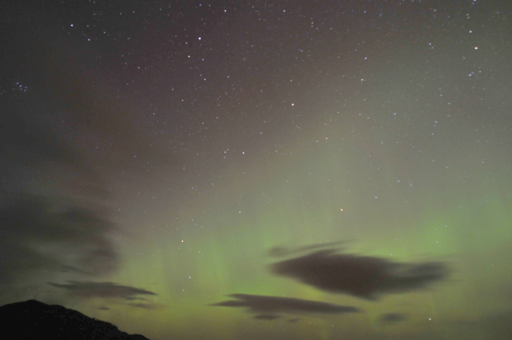 Aurora 27 February, over the Struie Ridge #1