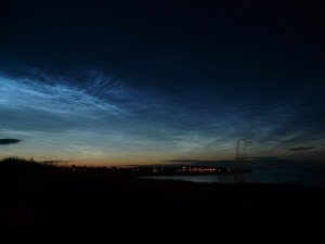 2014, July 7 Noctilucent Clouds by Pat Rae